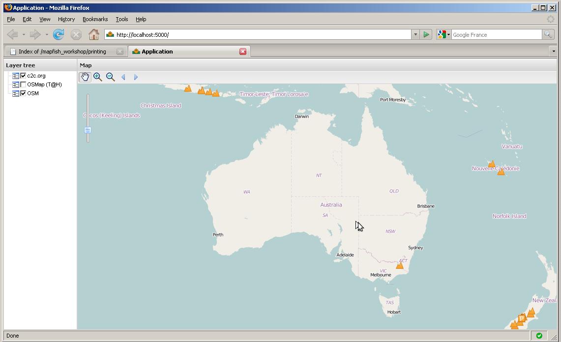 Module 3 - Customizing the Application — MapFish Tutorial v0 1