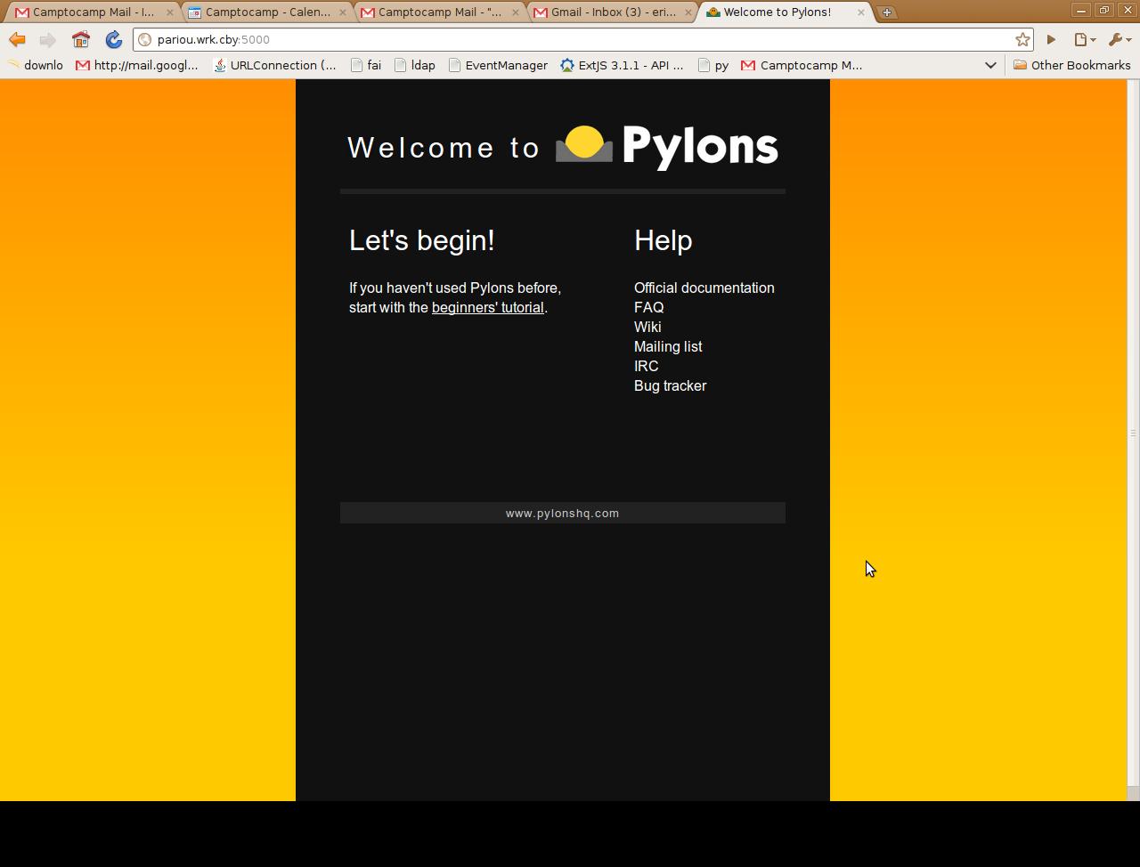 Pylons and SQLAlchemy — Python Workshop v0 1 documentation