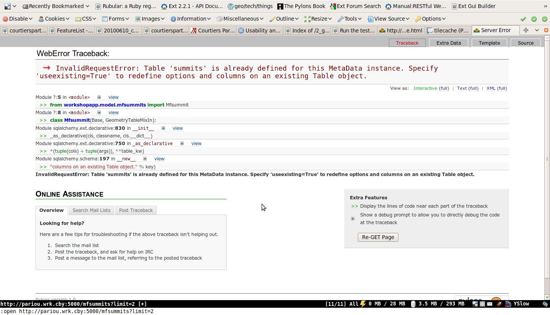 MapFish — Python Workshop v0 1 documentation